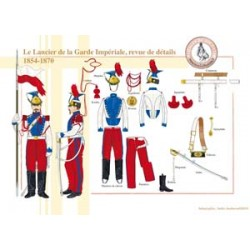 Le Lancier de la Garde Impériale, revue de détails, 1854-1870
