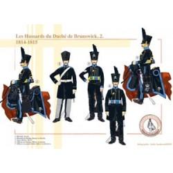 Die Husaren des Herzogtums Braunschweig (2), 1814-1815