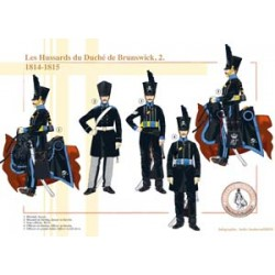 The Hussars of the Duchy of Brunswick (2), 1814-1815