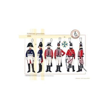Généraux prussiens, 1806