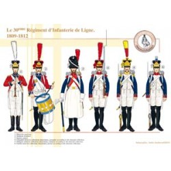 The 30th Line Infantry Regiment, 1809-1812