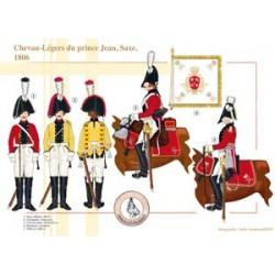 Prinz Johns Leichtes Pferd, Sachsen, 1806
