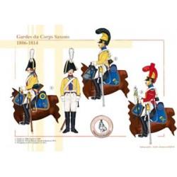 Sächsische Corps Guards, 1806-1814
