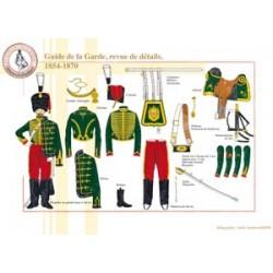 Guide de la Garde, revue de détails, 1854-1870