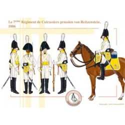The 7th Prussian Cuirassier Regiment von Reitzenstein, 1806