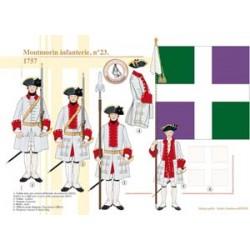 Montmorin infanterie n°23, 1757