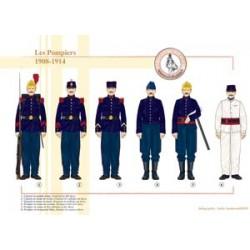 Französische Feuerwehr, 1908-1914