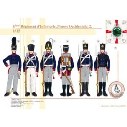 6ème Régiment d'Infanterie, Prusse Occidentale (2), 1815