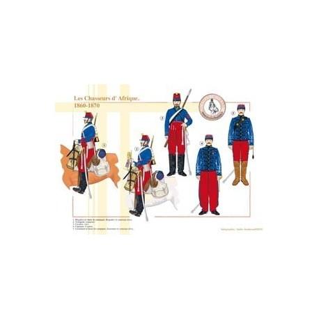 Les Chasseurs d'Afrique, 1860-1870