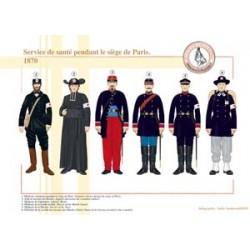 Service de santé pendant le siège de Paris, 1870