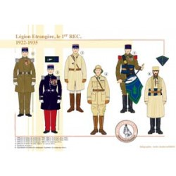 Foreign Legion, the 1st REC, 1922-1935