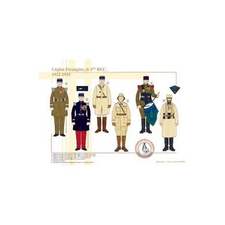 Légion Etrangère, le 1er REC, 1922-1935