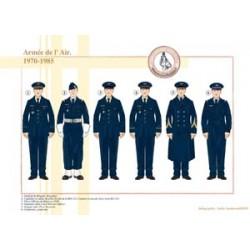 Armée de l'Air, 1970-1985