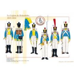 Die Legion von Hohenlohe, 1815-1824