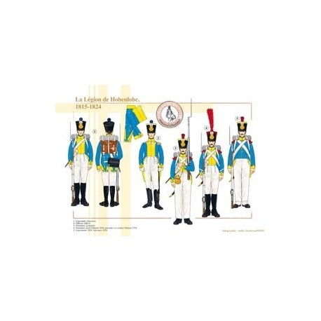 The Legion of Hohenlohe, 1815-1824