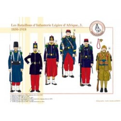Die leichten Infanteriebataillone von Afrika (3), 1850-1918