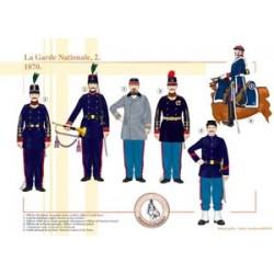 Die französische Nationalgarde (2), 1870
