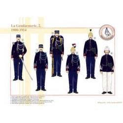 Die Gendarmerie (2), 1900-1914