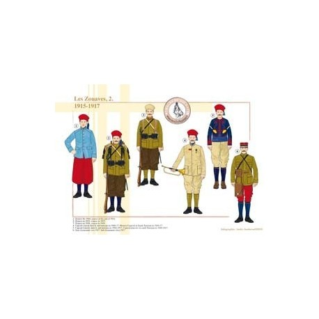 The Zouaves (2), 1915-1917