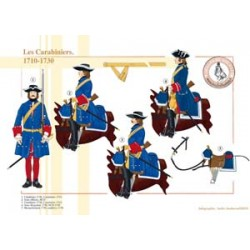 The French Carabiniers, 1710-1730
