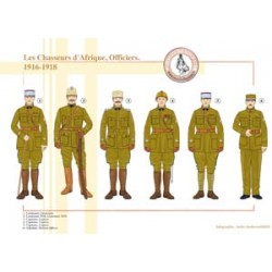 The African Hunters, Officers, 1916-1918
