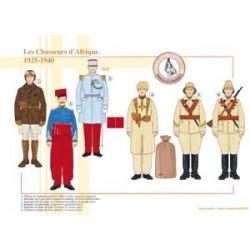 Les Chasseurs d'Afrique, 1925-1940