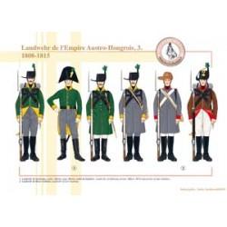 Landwehr de l'Empire Austro-Hongrois (3), 1808-1815
