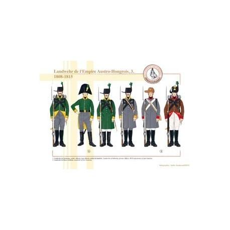 Landwehr of the Austro-Hungarian Empire (3), 1808-1815