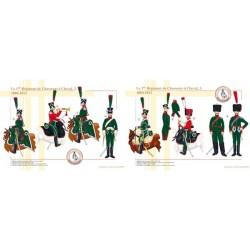 1. Französisches Regiment der Chasseurs à Cheval (2 und 3), 1804-1812