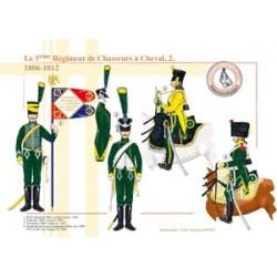 Das 5. Regiment der Chasseurs à Cheval (2), 1806-1812