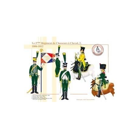 Le 5ème Régiment de Chasseurs à Cheval (2), 1806-1812