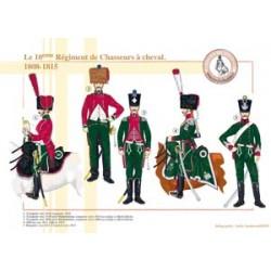Le 10ème Régiment de Chasseurs à cheval, 1808-1815