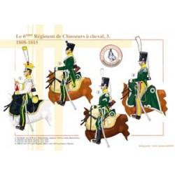 Le 6ème Régiment de Chasseurs à cheval (3), 1808-1815