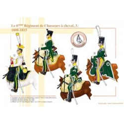 The 6th Regiment of Hunters on Horseback (3), 1808-1815