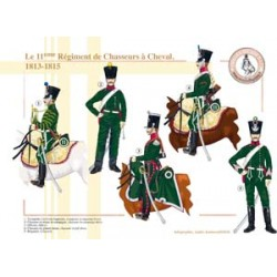 Das 11. Regiment der Chasseurs à Cheval, 1813-1815