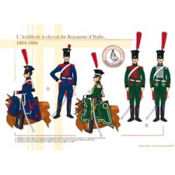 Horse Artillery of the Kingdom of Italy, 1804-1806