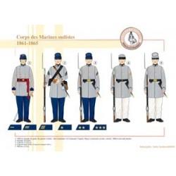 Corps des Marines sudistes, 1861-1865