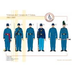 Veteranen der Unionsarmee, 1861-1865