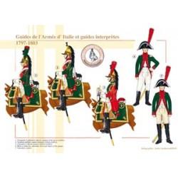 Guides de l'Armée d'Italie et guides interprètes, 1797-1803