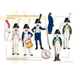 Französische Ehrenwachen der Departements, 1805-1812