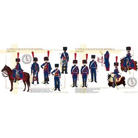 L'Artilleur à Cheval de la Garde Impériale, 1804-1815