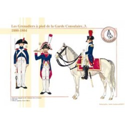 The Grenadiers on foot of the Consular Guard (3), 1800-1804