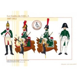 Französische General Headquarters Guides (3), 1807-1812