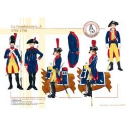 Die französische Gendarmerie (3), 1791-1798