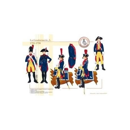 La Gendarmerie (3), 1791-1798