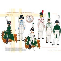 French departmental honor guards (2), 1805-1812