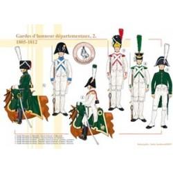 Gardes d'honneur départementaux (2), 1805-1812