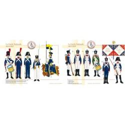 Die französische Nationalgarde, 1813-1815