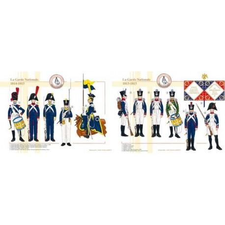 La Garde Nationale, 1813-1815