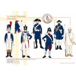 Die französische Nationalgarde (3), 1813-1815